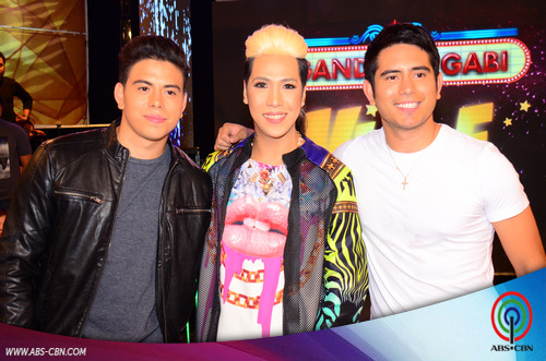PHOTOS: Hottie Gerald Anderson with cute brother Ken on GGV