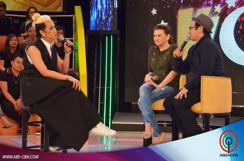 PHOTOS: Ang mag-BFF na sina Angelica at John, tinapatan ang kakulitan ni Vice sa GGV