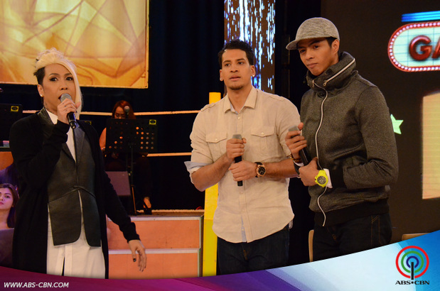 PHOTOS: PBA Players Arwin Santos at Marcio Lassiter, nakipagkulitan kay Vice sa GGV