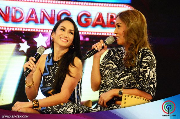 Hotness overload sa GGV with sexy moms Ina Raymundo and Aubrey Miles