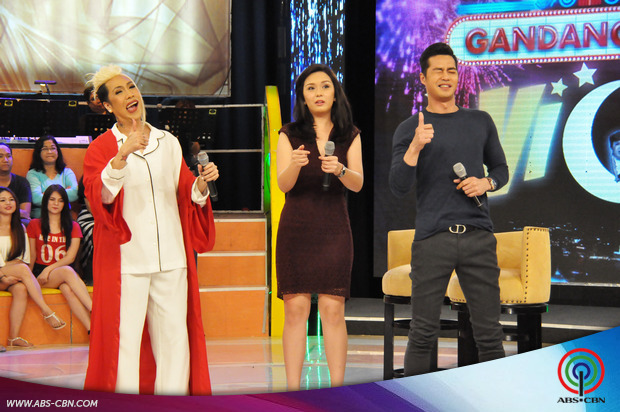 PHOTOS: Dream Dad's BasLex Zanjoe and Beauty, sweet sweetan sa GGV
