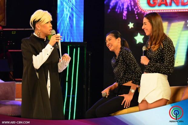 PHOTOS: Laugh trip sa GGV with Alyssa & Amy, Rex & Marck ng Ateneo Volleyball Team