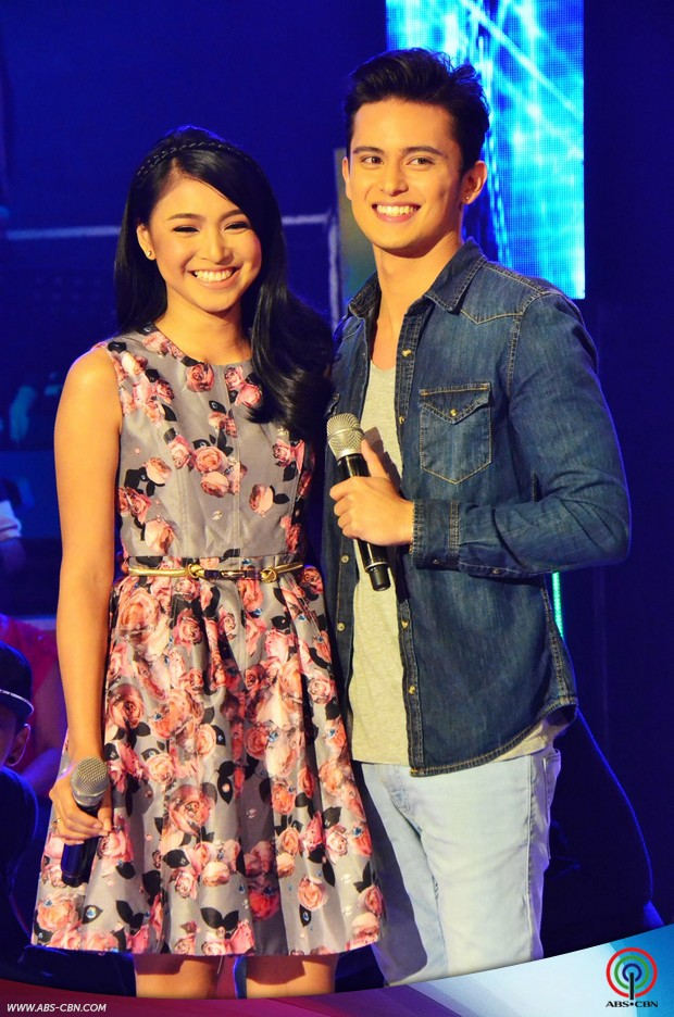 PHOTOS: James Reid and Nadine Lustre, na-corner ni Vice sa GGV