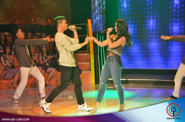 PHOTOS: Julia and Inigo, nag-tandem sa pakikipagkulitan kay Vice sa GGV