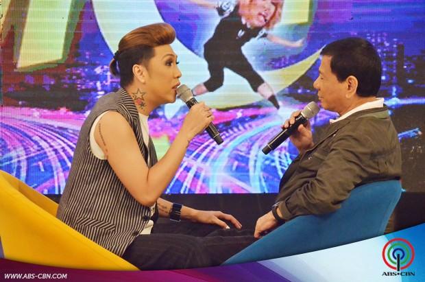 PHOTOS: Vice Ganda meets Davao City Mayor Rodrigo Duterte