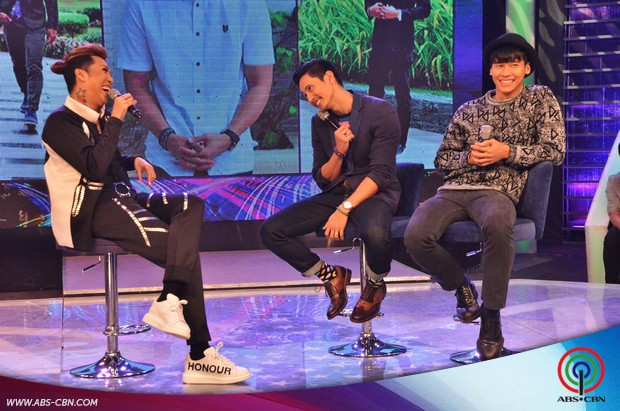 'Pabebe' moments with Aj and Enchong Dee on GGV