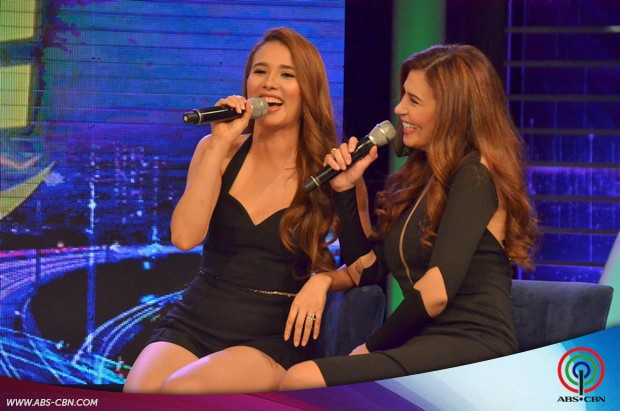 PHOTOS: Bukingan with mother and daughter ZsaZsa and Karylle on GGV