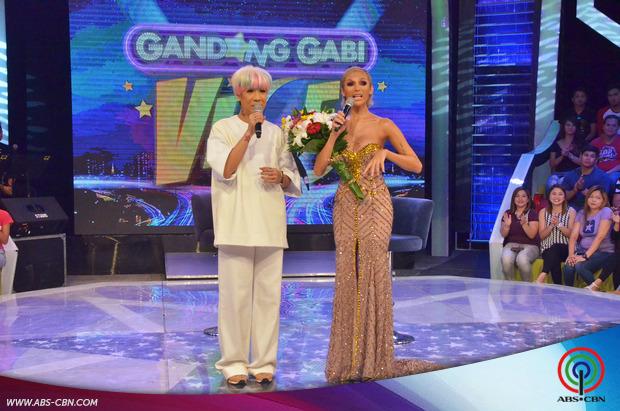 PHOTOS: Ang pak na pak na harapan nina Maria Sofia Love at Vice Ganda sa GGV