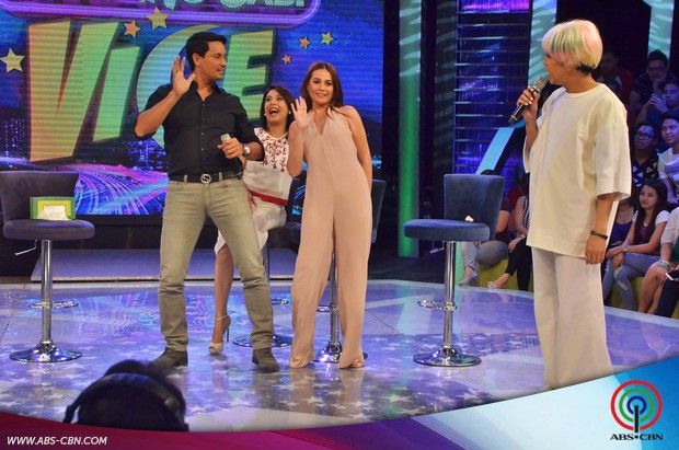 PHOTOS: The Love Affair stars Richard, Dawn and Bea go wacky on GGV