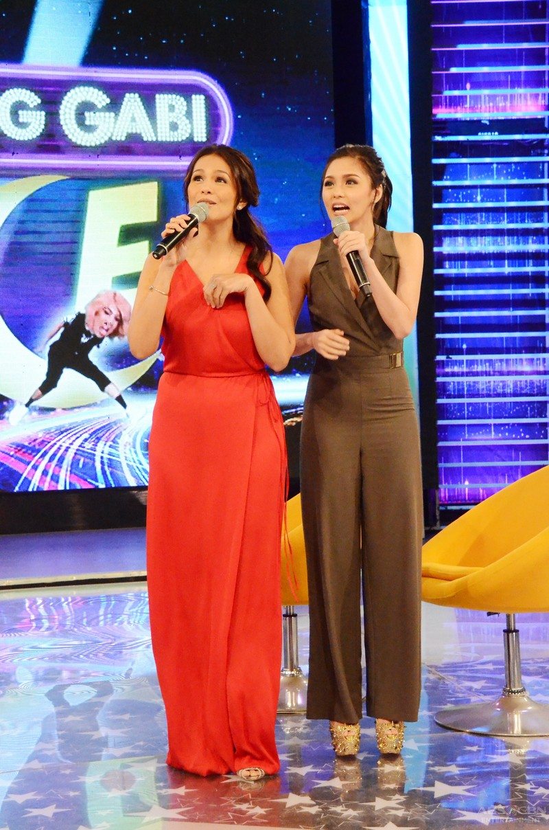 PHOTOS: Laugh trip with the 'mistresses' Kim and Iza on GGV