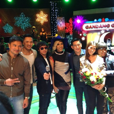 The cast of The Amazing Praybeyt Benjamin on GGV