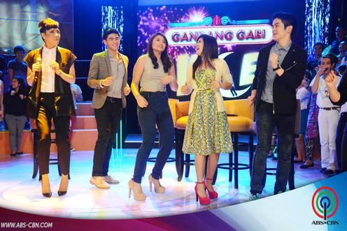 LOOK: Joshua, Loisa, Manolo and Nicole on GGV