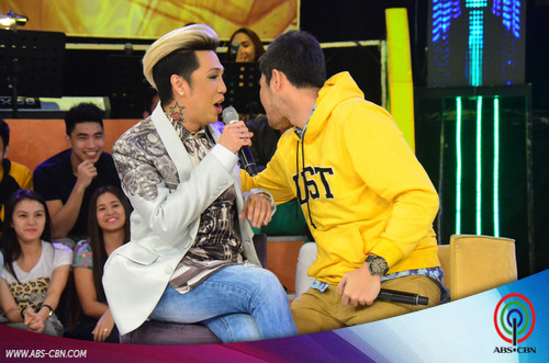 LOOK: UAAP Basketball Heartthrobs makikipagkulitan kay Vice Ganda