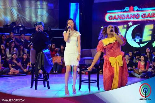 The beautiful Jodi Sta Maria on Gandang Gabi Vice